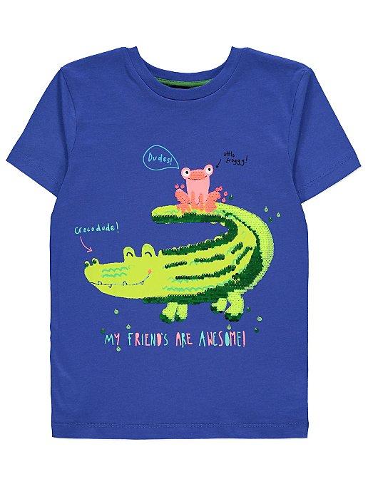 T skjorte Krokodille Helt Unik Klær og tilbehør for de
