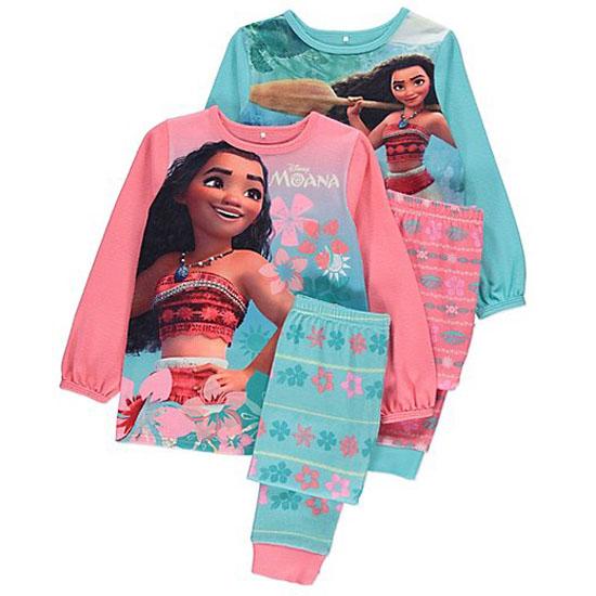 GIRLS DISNEY MOANA Long or Short Sleeved T Shirt Kids Vaiana