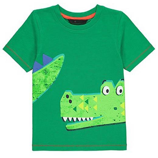 t-skjorte krokodille